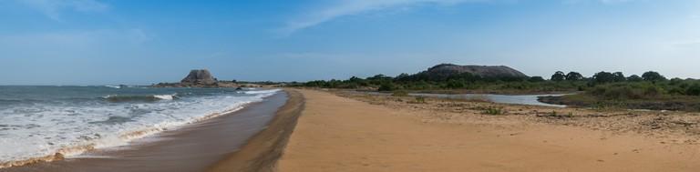 The shoreside at Yala National Park