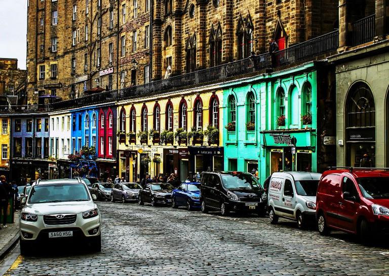 Victoria St, Edinburgh