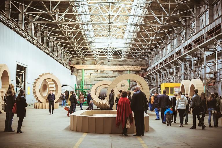 3rd Ural Biennial of Contemporary Art. Installation view