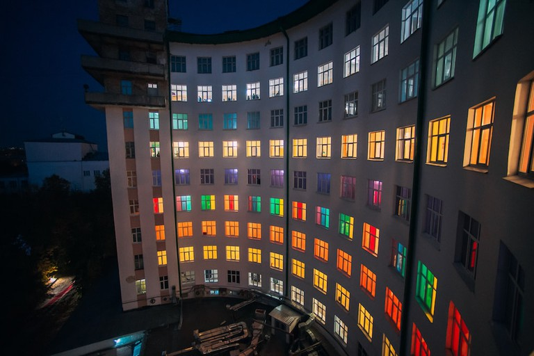 The Iset Hotel. Venue of the 3rd Ural Industrial Biennial of Contemporary Art