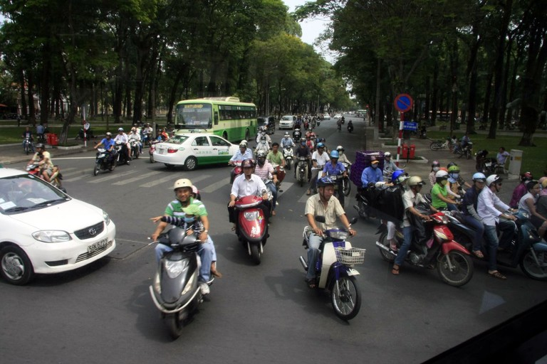 Turn left in herds