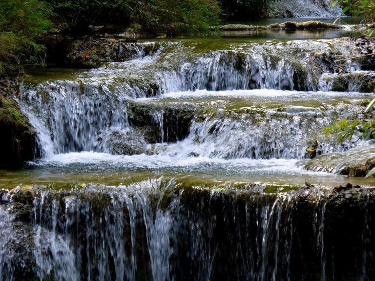 Waterfall in Erawan