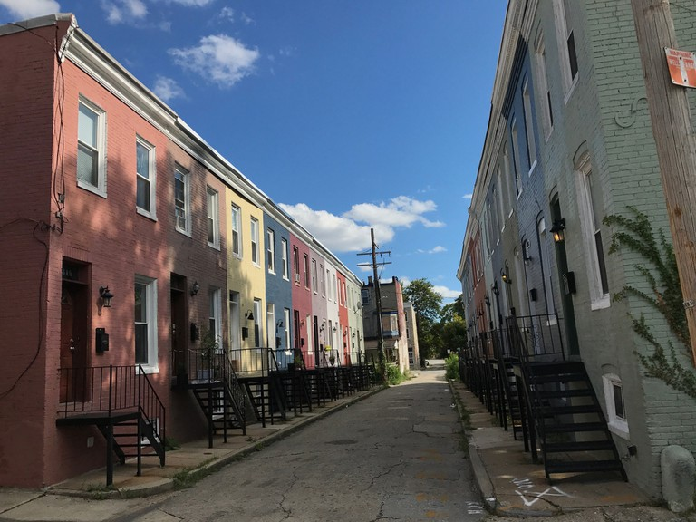 Alley Houses in Baltimore | © Baltimore Heritage/Flickr