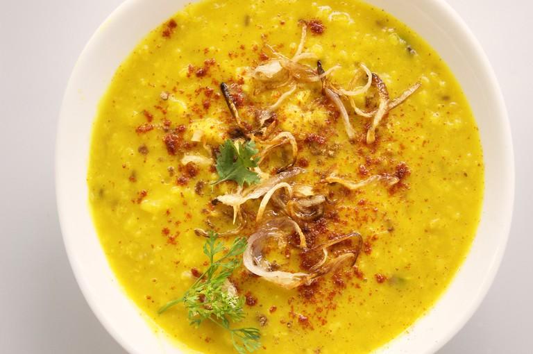 Cream Dahl Curry with coconut milk