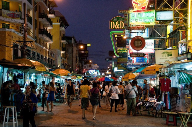 Khao San Road has plenty of tailors - don't fall for it