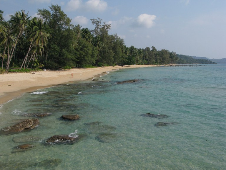 A beach on Koh Kood