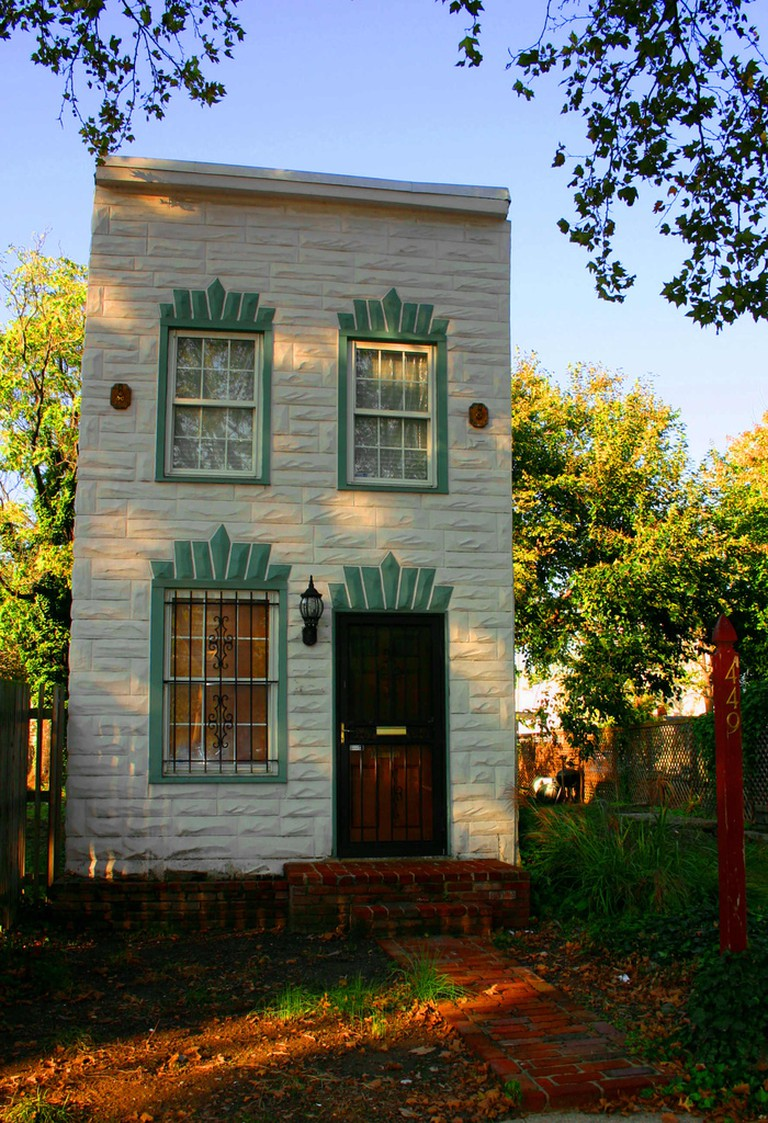Square Front Rowhouse in Baltimore | © Elvert Barnes/Flickr
