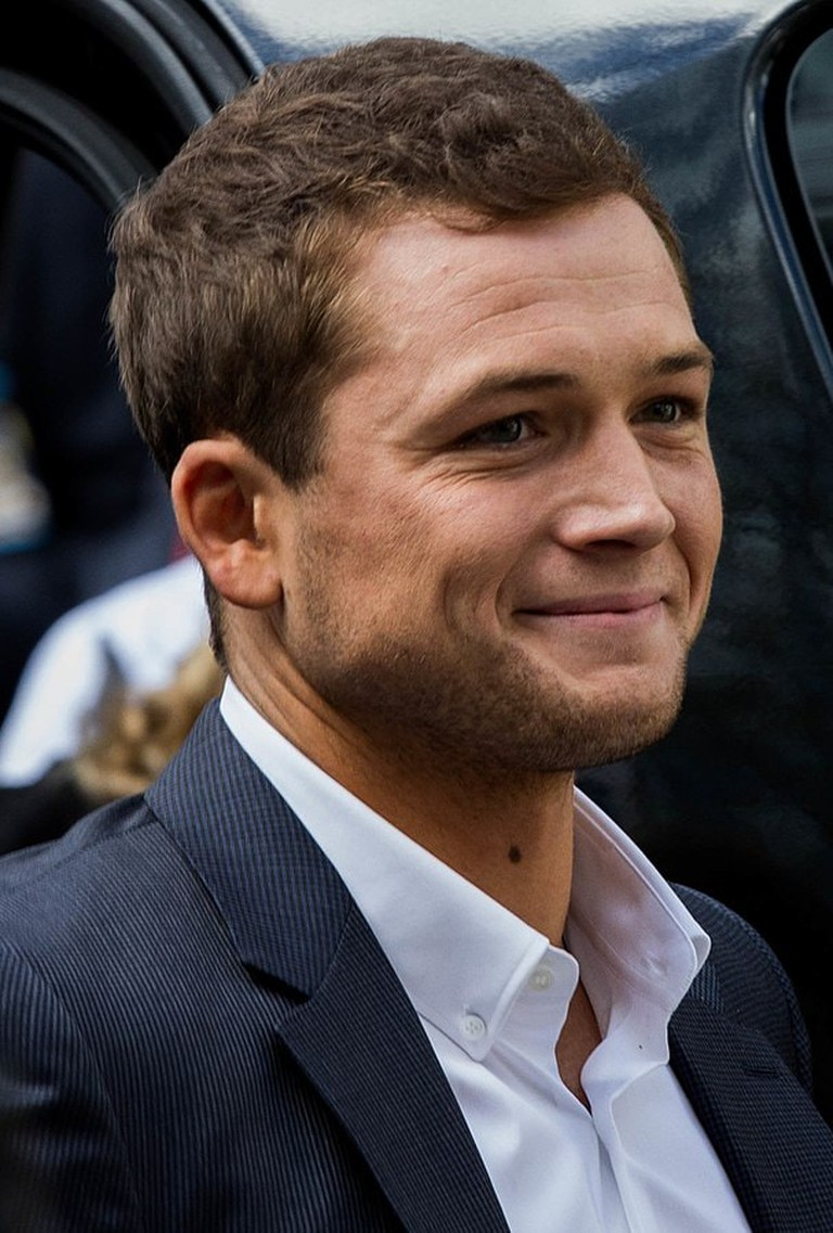 Taron Egerton, the voice of Moomintroll