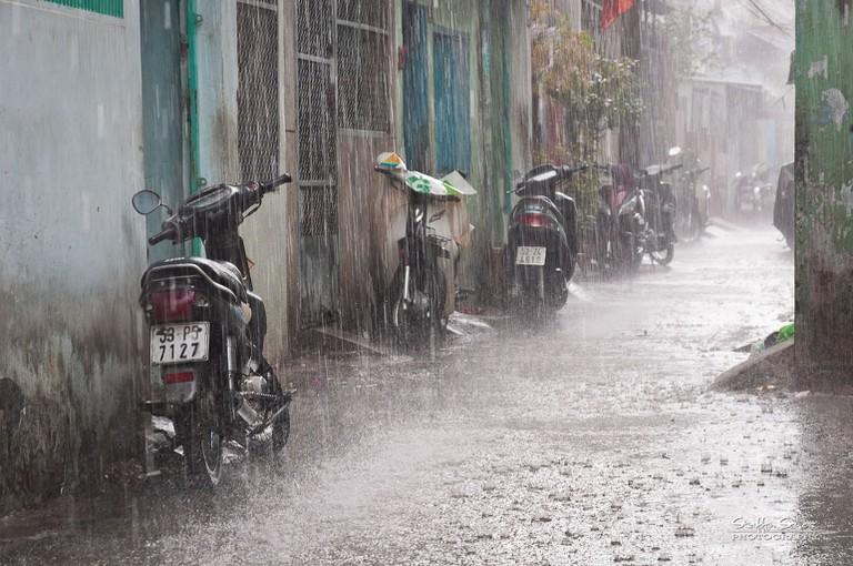 Saigon Rains   © Staffan Scherz/Flickr