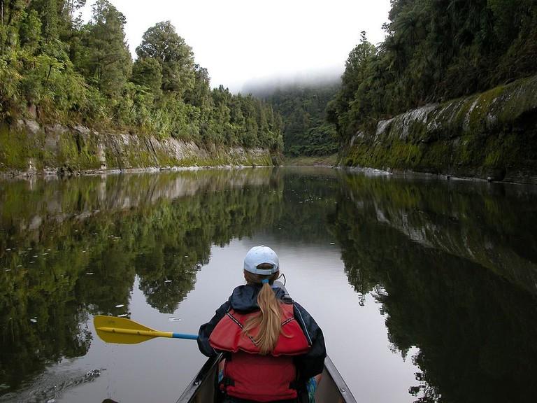 Canoeist, Whanganui National Park