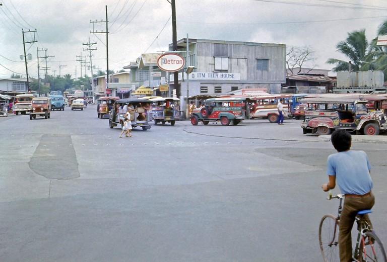 Cubao, Manila circa 1976