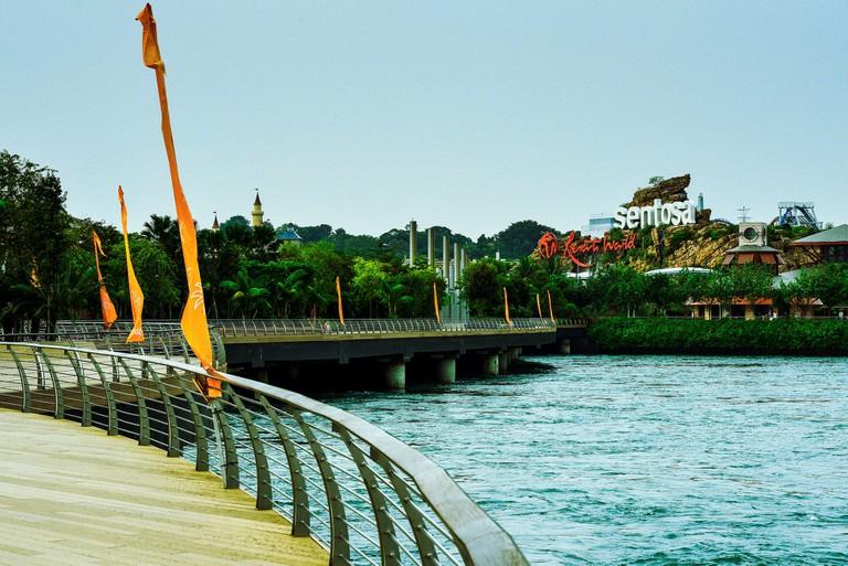 Broadwalk at Sentosa, Singapore