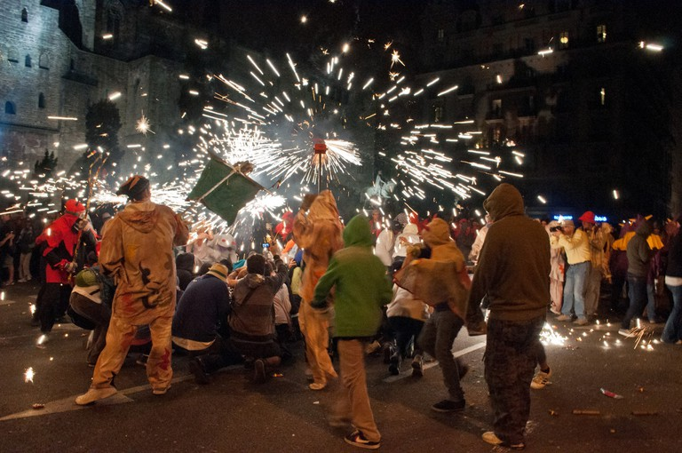 La Mercè celebrations