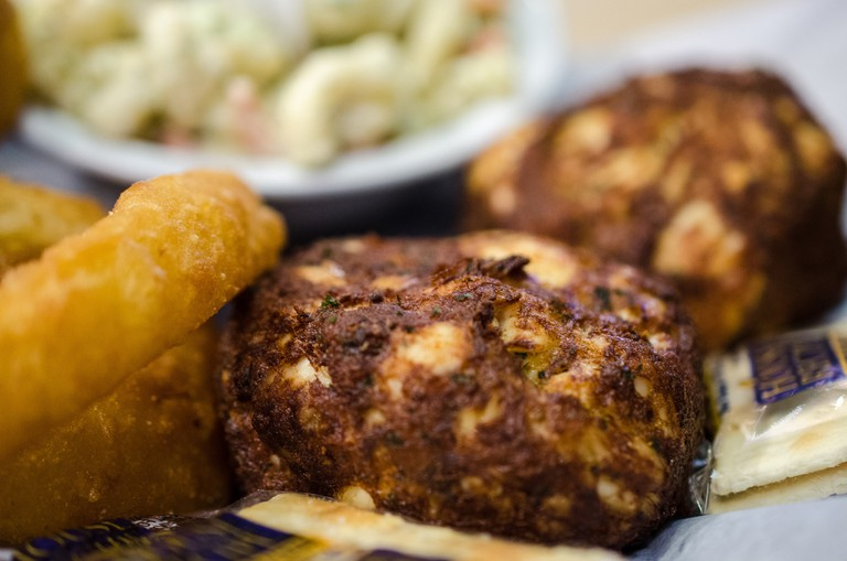 Crab cakes from Baltimore