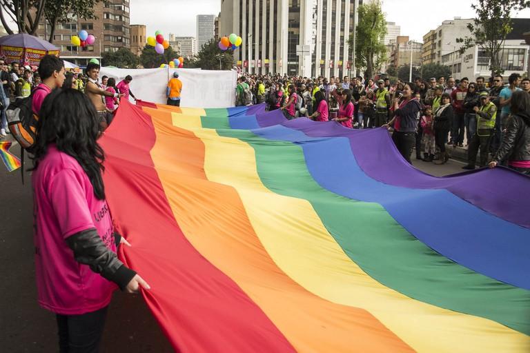 Gay pride in Bogota