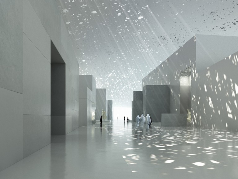 Renders of Louvre Abu Dhabi