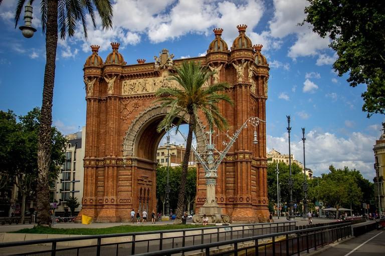 The Arc de Triomf in Barcelona