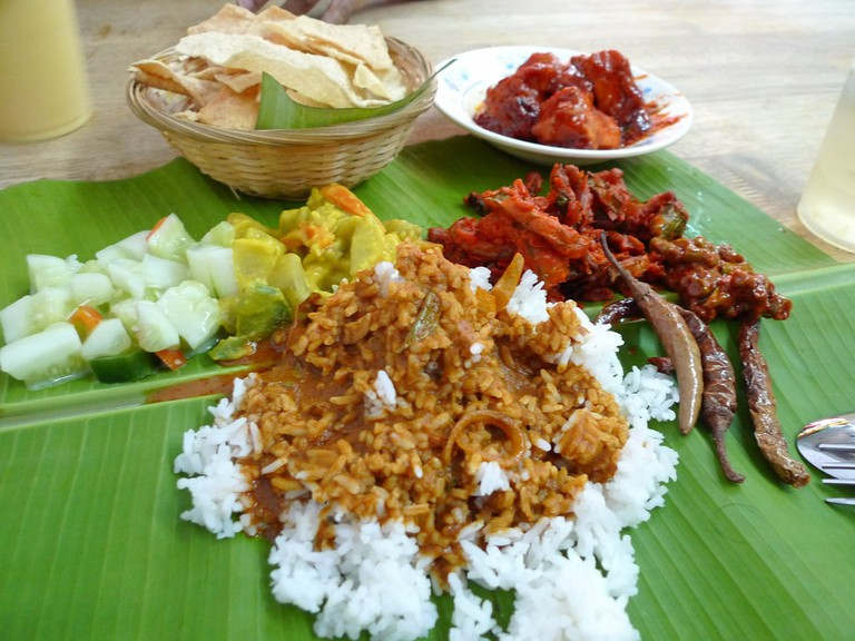 Banan Leaf Rice