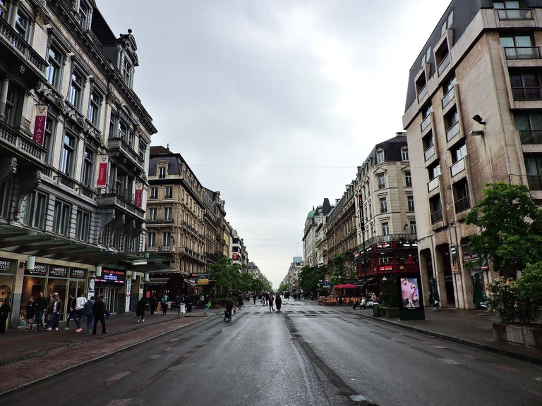 Boulevard d'Anspach | © Dimitris Kamaras / Flickr