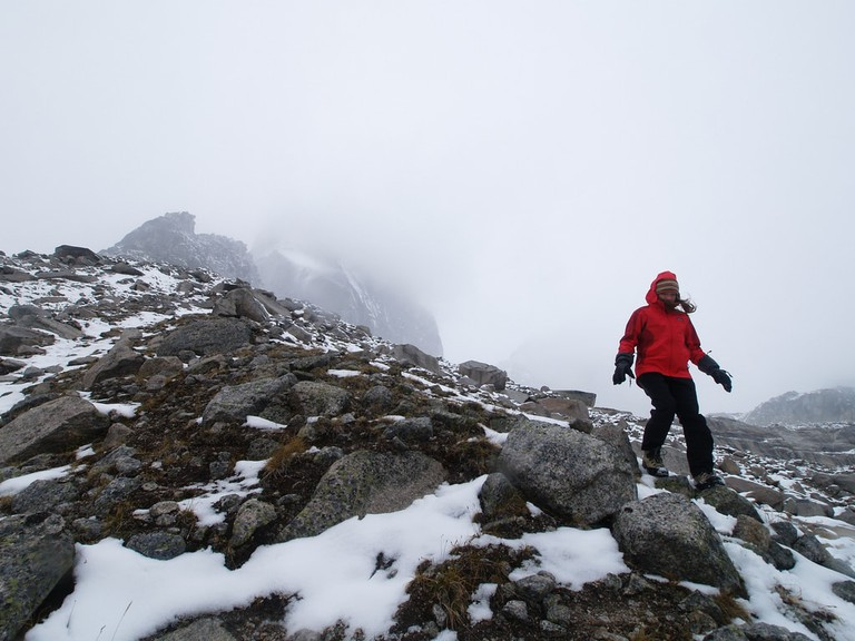 Mountaineering in western Canada