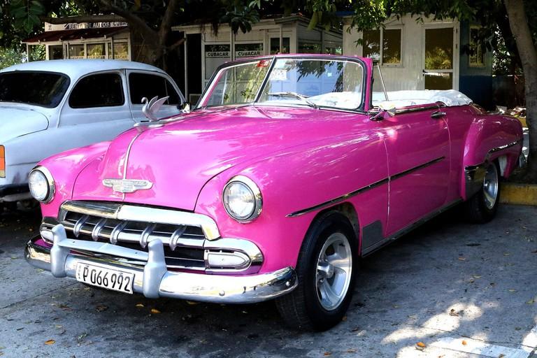 Classic cars are everywhere in Cuba