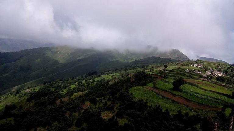 View of Chakrata village