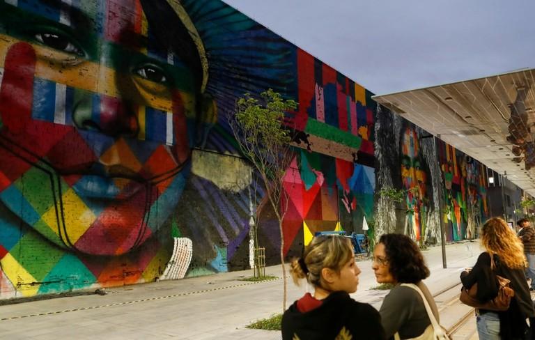 Street art by Eduardo Kobra |©Agência Brasil Fotografias/Flickr