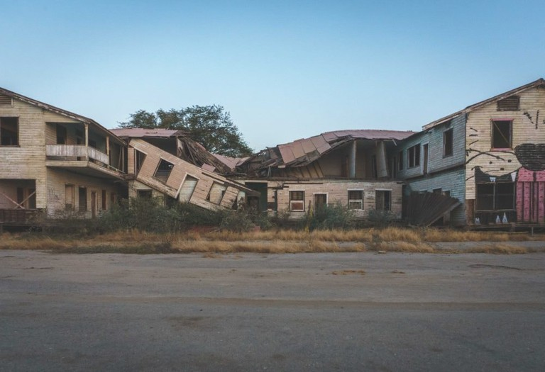 Abandoned British mansion in Lobitos