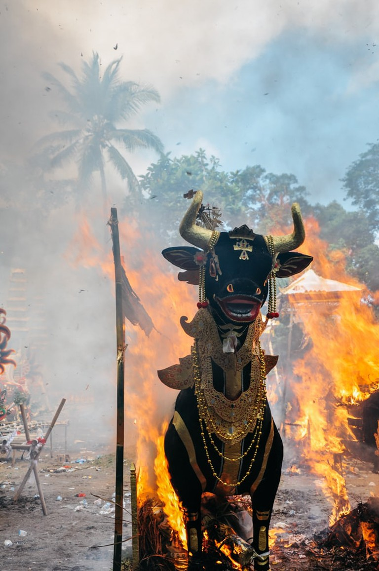 A Festive Cremation: Bali's Ngaben and the Celebration of ...