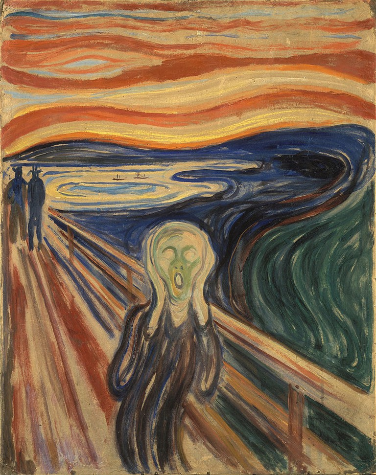 Edvard Munch, The Scream (1910) | Via Google Art Project/WikiCommons