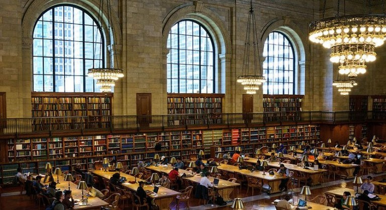 The Rose Main Reading Room at the Stephen A. Schwarzman Building in Ex-Libris