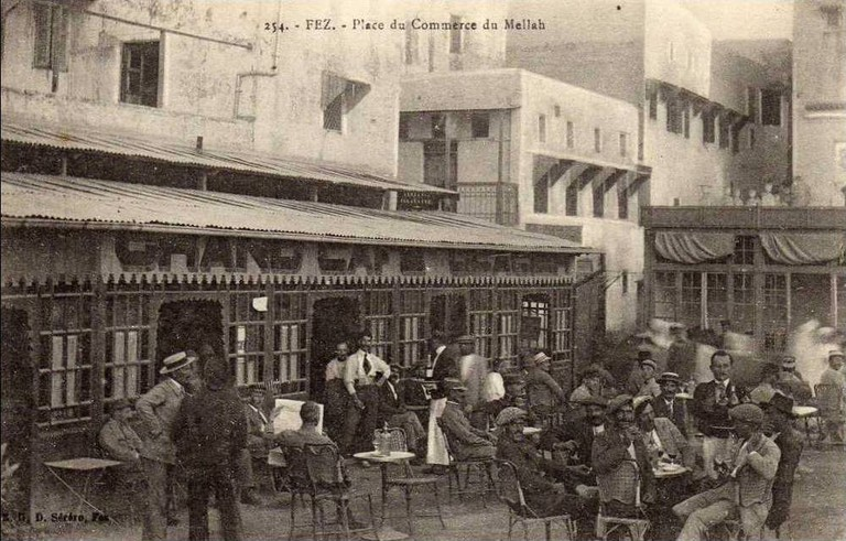 Fez Coffee Place in the Mellah