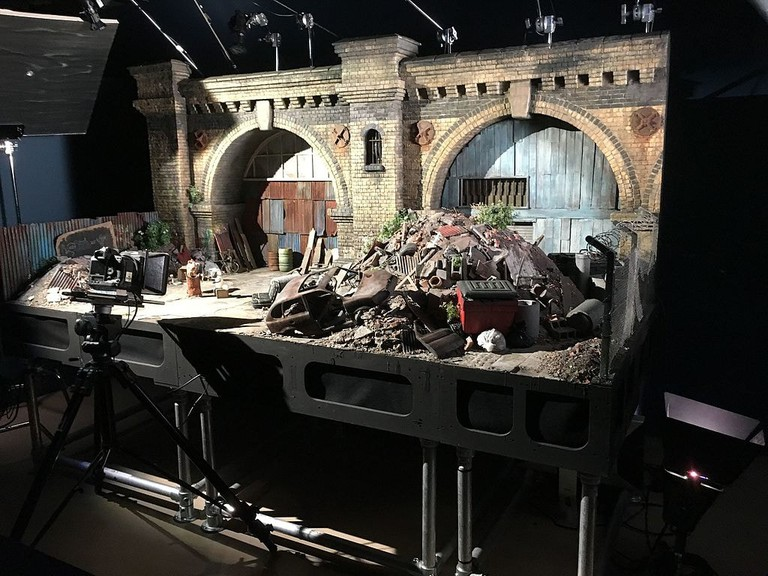Stop motion set at Aardman Animation