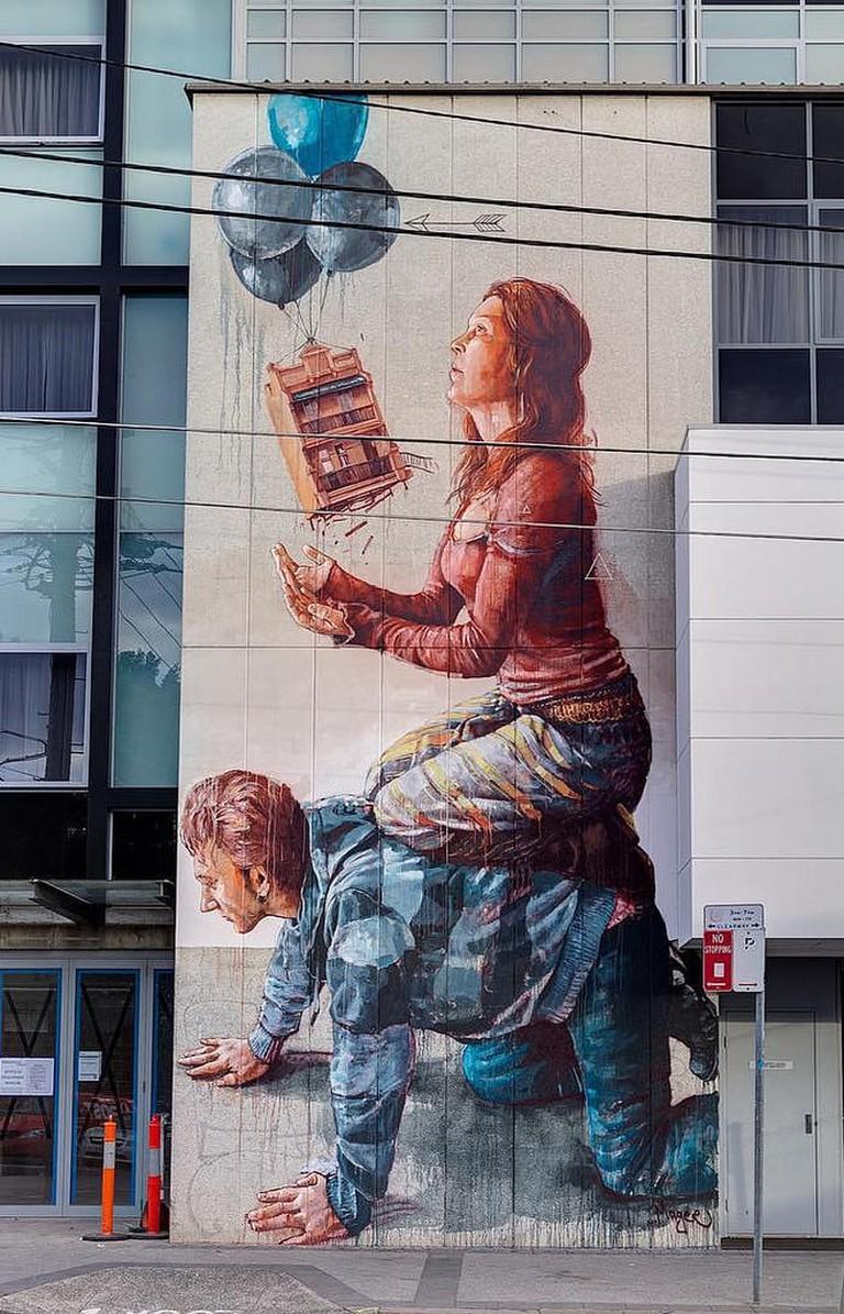 Fintan Magee Newtown mural | © JAM Project/Flickr