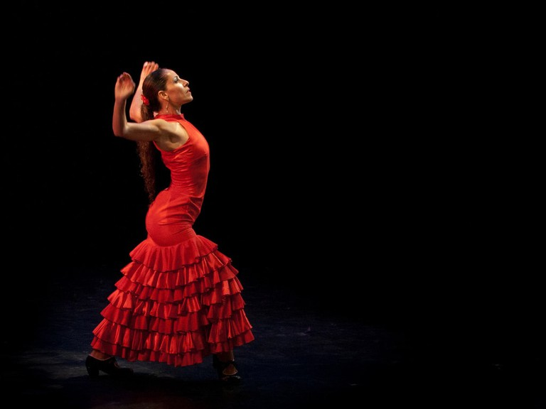 Flamenco dancing, Spain