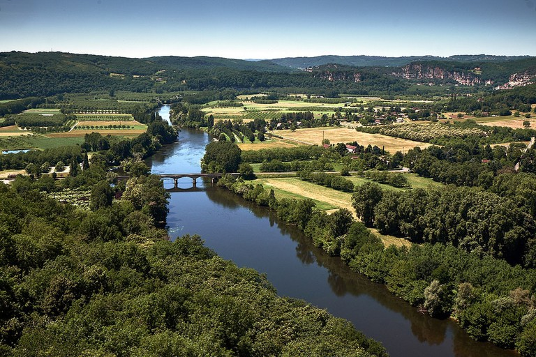 Gorgeous view over the Dordogne |