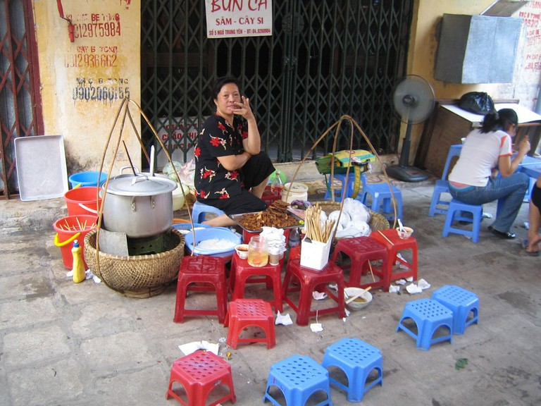 Hanoi Street Food   © Rachel Black\Flickr