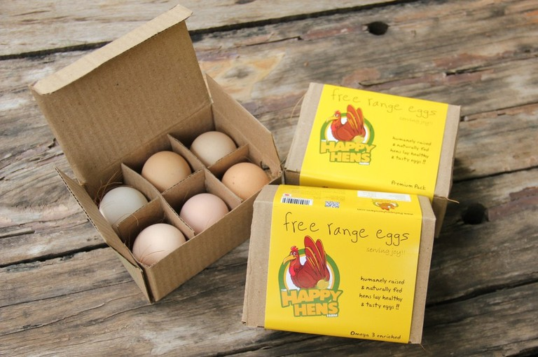 The Happy Hens Farm believes happier the hens, better the eggs