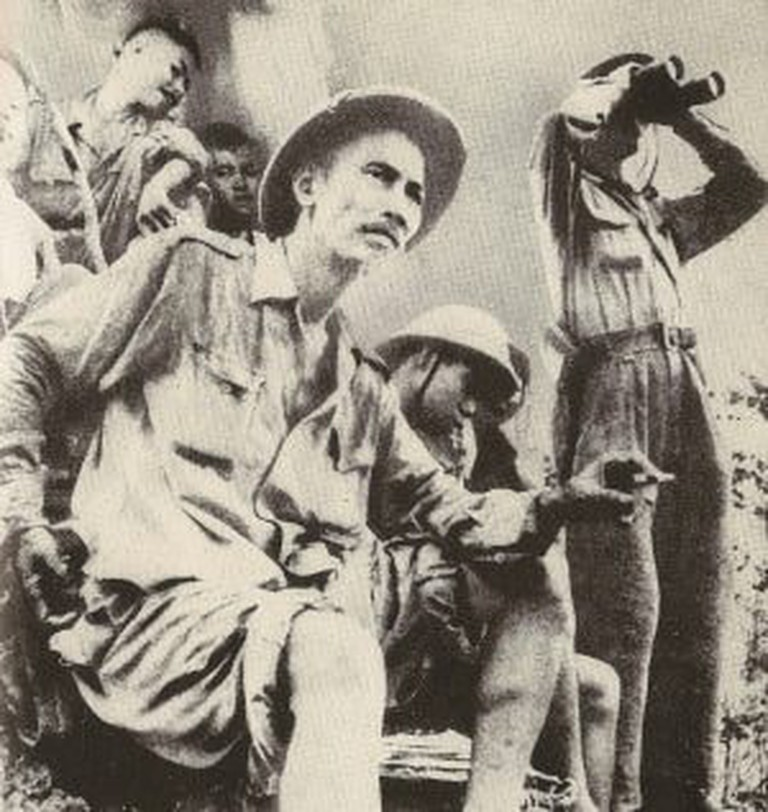 Ho Chi Minh in Dong Khe, 1950 | Jean Chesneaux/WikiCommons