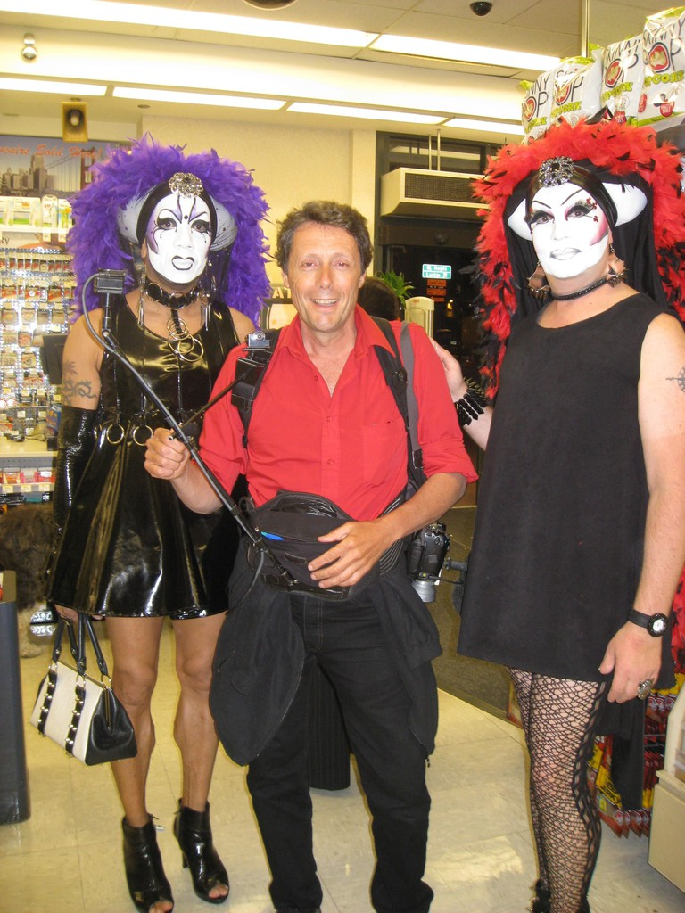 With two Sisters of Perpetual Indulgence in San Francisco