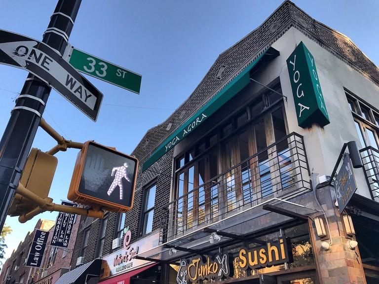 Yoga Agora on Broadway | © Nikki Vargas