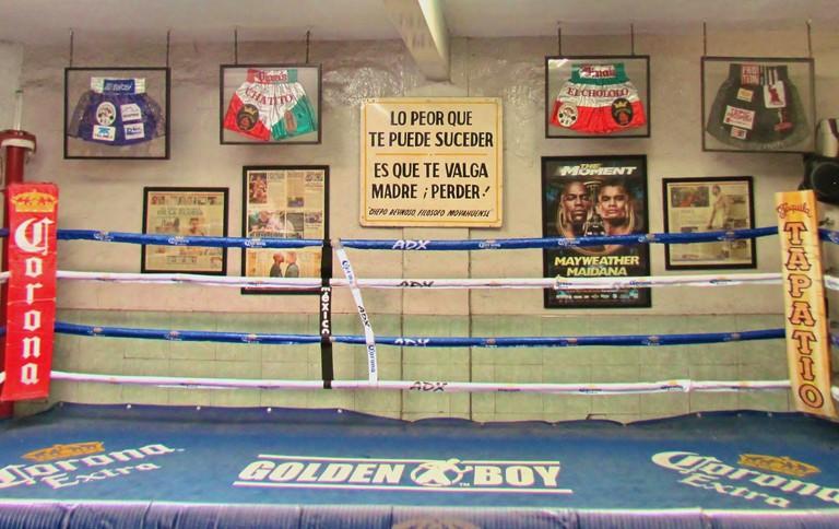 The Julián Magdaleno Gym