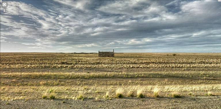 The vast Argentine pampa