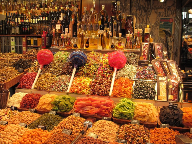 The Boqueria market CC0 Pixabay