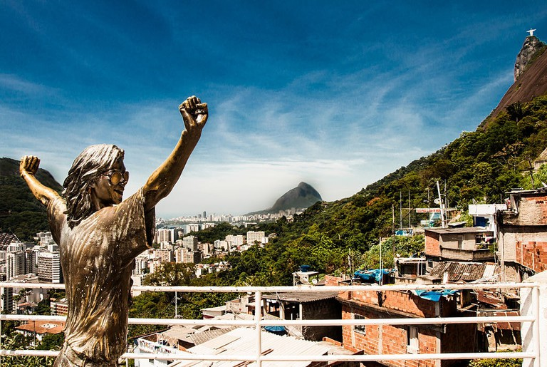 Santa Marta favela |© Guilherme Mendes Cruz/WikiCommons