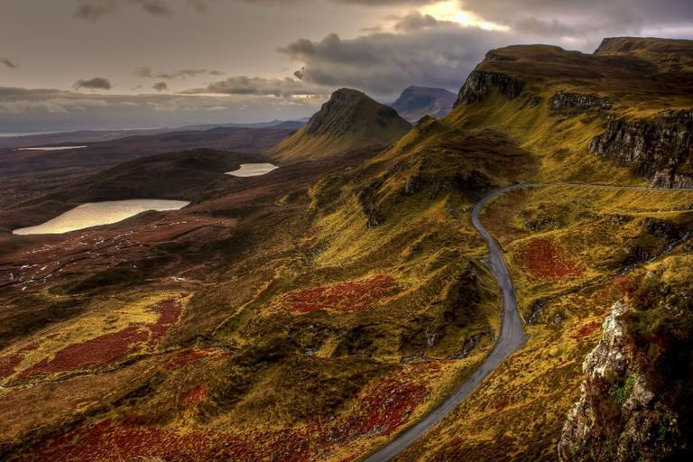 Scotland Autumnal Landscape