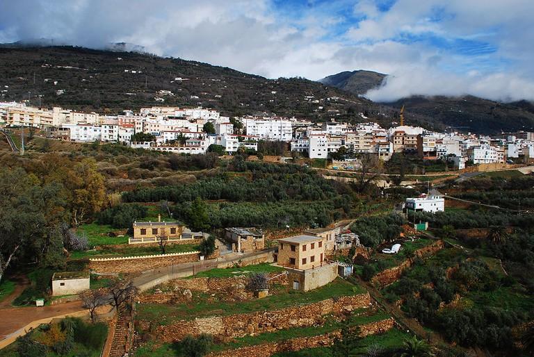 Lanjaron, Alpujarras, Spain | ©Andrew Hurley / Wikimedia Commons