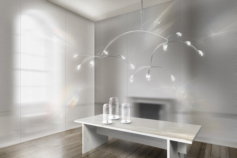 Luminous Reflections, a chandelier designed by Tord Boontje for Swarovski