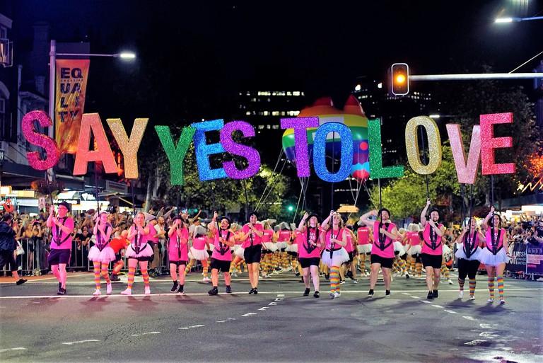 Courtesy Sydney Gay and Lesbian Mardi Gras Photographer Jeffrey Feng