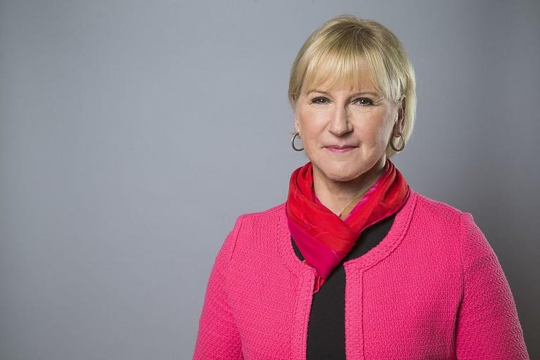 Swedish Foreign Minister Margot Wallström